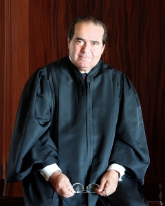Antonin Gregory Scalia, Associate Justice of the Supreme Court of the United States.
